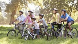 Ajak Anak Cintai Lingkungan Lewat Tur Wisata Sepeda