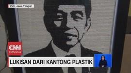 VIDEO: Lukisan dari Kantong Plastik