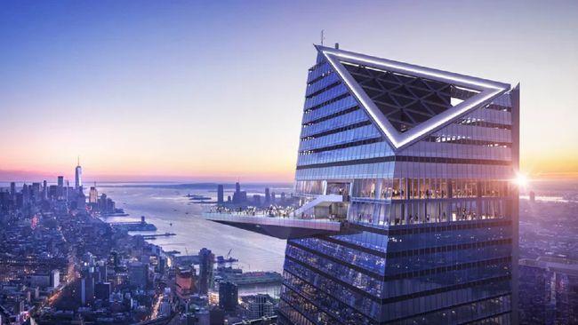 Gedung Kaca Tertinggi di Amerika Bisa Dikunjungi Tahun Depan