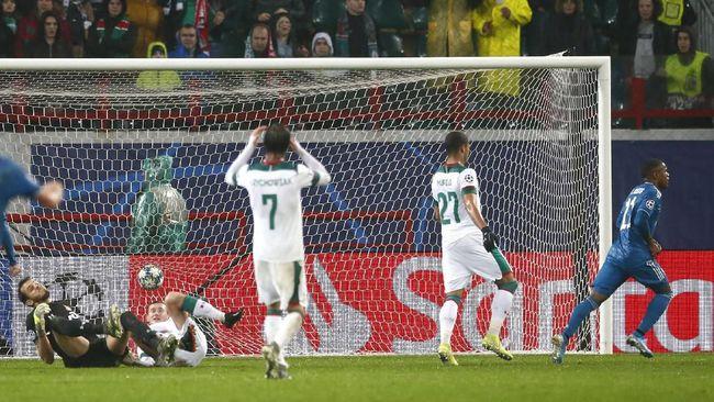 Hasil Liga Champions: Gol Telat Costa Bawa Juventus Menang