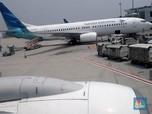 Dirut Garuda Dipecat Erick Thohir, Harga Sahamnya Stagnan