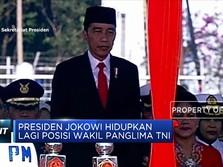 Presiden Jokowi Hidupkan Lagi Posisi Wakil Panglima TNI