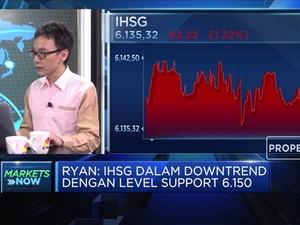 Aksi Profit Taking Bikin IHSG Anjlok Hingga 1,32%