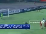 Timnas Indonesia U-19 Unggul 3-1 dari Timor Leste