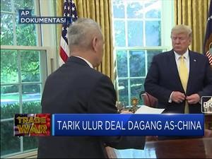 Maju-Mundur Deal Dagang AS-China Terhambat Lokasi