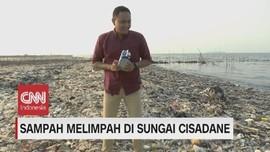 VIDEO: Sampah Melimpah di Sungai Cisadane