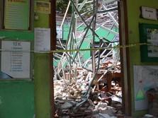 Nadiem Hampir Menitikkan Air Mata Lihat SD Ambruk di Pasuruan