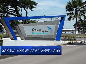 Loh! Garuda & Sriwijaya 'Cerai' Lagi?