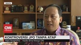 VIDEO: Kadis Bina Marga: JPO Tanpa Atap Tak Ganggu Kenyamanan