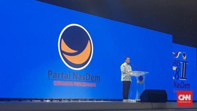 Anies Kenang Deklarasi Nasional Demokrat Bersama Surya Paloh