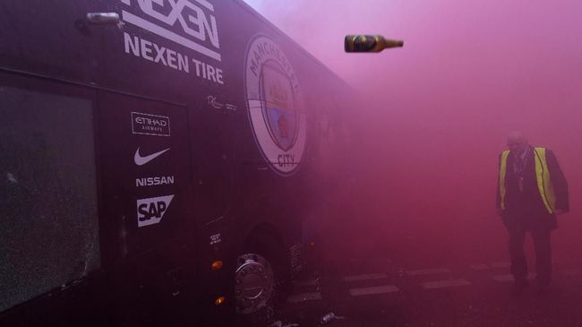 Man City Takut Bus Tim Kembali Diserang Fan Liverpool