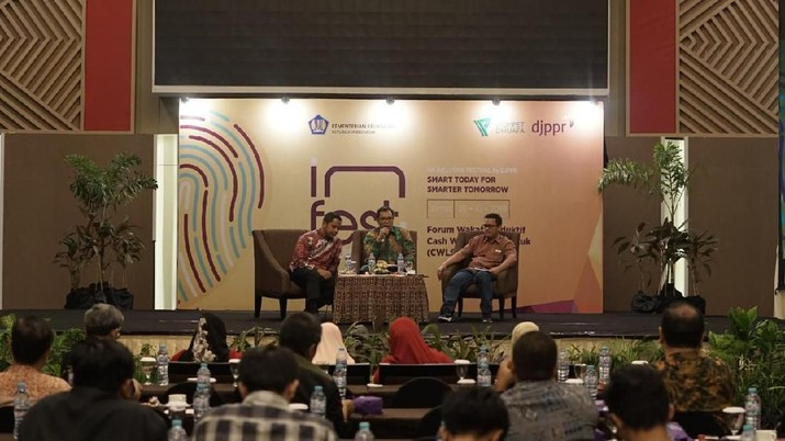 Direktorat Jenderal Pengelolaan Pembiayaan dan Risiko (DJPPR) Kementerian Keuangan menggelar Forum Diskusi Wakaf Produktif Cash Waqf Linked Sukuk (CWLS).