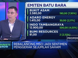 Rebalancing MSCI Dorong Penguatan IHSG