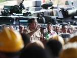 RI Kekurangan Peluru, Prabowo Pesan 4 Miliar Butir ke Pindad