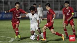 Timnas Indonesia U-19 Menang Telak 4-0 atas Hong Kong