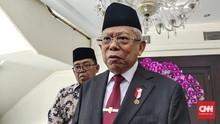 Ma'ruf Minta Polisi Awasi Masjid Penyebar Kebencian