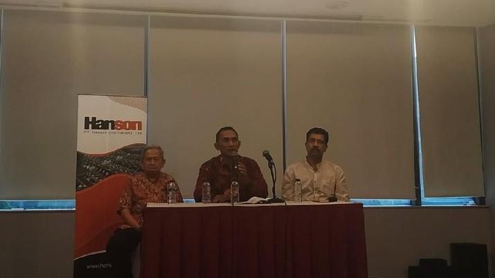 Fokus Lunasi Kewajiban, Hanson Tunda Rights Issue Rp 9 T