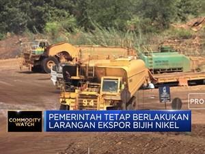 Pemerintah Tetap Berlakukan Larangan Ekspor Bijih Nikel