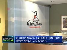 Waduh, Disney Hong Kong Rugi Hingga USD 55 Juta