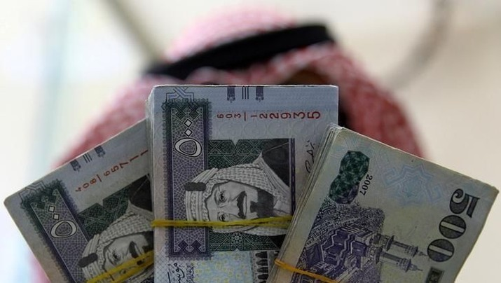 Mata Uang Riyal Arab Saudi (REUTERS/Faisal Al Nasser)