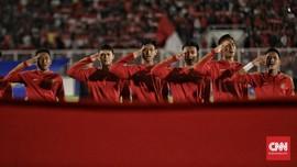 Fakhri: Semangat Timnas Tak Kendor Walau Suporter Sedikit