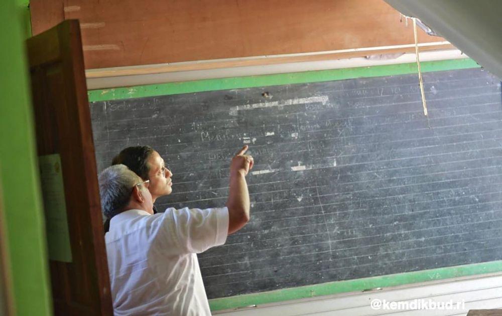 Nadiem meminta keamanan dan kenyamanan murid dan guru dalam pembelajaran adalah hal utama. Dia meminta agar pemerintah daerah maupun pemerintah pusat, dengan azas gotong royong, bekerja sama menghadirkan sekolah aman dan nyaman. (Screenshot Instagram @kemdikbud.ri)