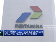 Pertamina Kembangkan Program B20