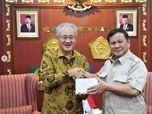Menhan Prabowo Terima Kunjungan Dubes Jepang Hingga Inggris
