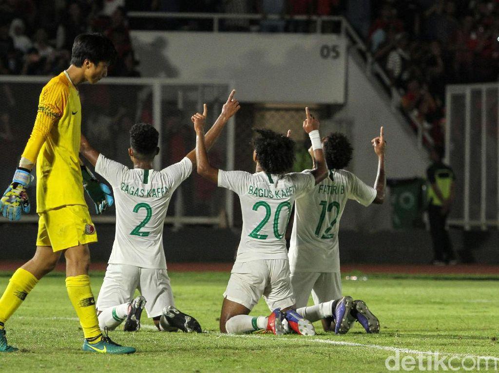 Tim asuhan Fakhri Husaini itu memuncaki Grup K Klasemen Kualifikasi Piala Asia U-19 2020.