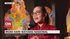 VIDEO: Ironi, Hari Wayang Nasional Sepi Peminat