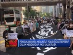 Aksi Long March di Hong Kong