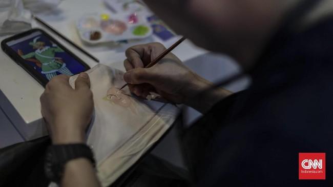Tak cuma jadi ajang berburusneaker,USS 2019 juga menjadi wadah bagi beragam aktivitas terkaitstreet culturelainnya.(CNN Indonesia/Bisma Septalisma)
