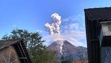 Gunung Merapi Meletus, Berpotensi Alirkan Lahar saat Hujan