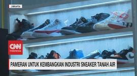 VIDEO: Pameran Untuk Kembangkan Industri Sneaker Tanah Air