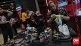 Di tahun keempat pelaksanaannya, USS menghadirkan lebih dari 150 labelsneakerdanstreetwearasal Indonesia maupun mancanegara.(CNN Indonesia/Bisma Septalisma)