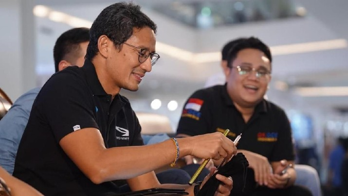 Simak! 4 Kartu AS Anti Ambyar ala Sandiaga Uno