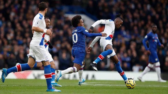 Hasil Liga Inggris: Tekuk Palace 2-0, Chelsea Geser Man City