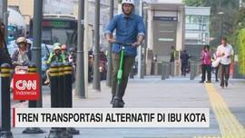VIDEO: Tren Transportasi Alternatif di Ibu Kota