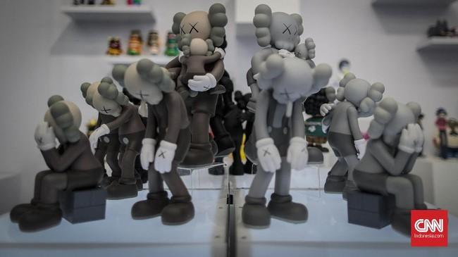Beragam programtalkshow, urban toys,dan masih banyak lagi hal-hal yang berkaitan denganstreet culturehadir meramaikan USS 2019.(CNN Indonesia/Bisma Septalisma)