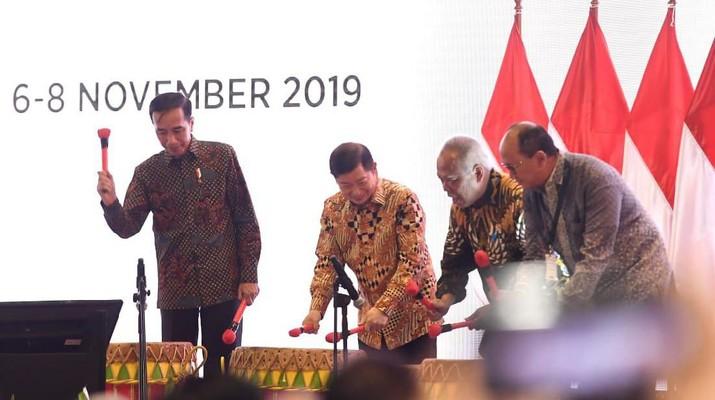 Rapat Kerja Nasional Bidang Infrastruktur Kadin dihelat bersamaan dengan acara Indonesia Infrastruktur Week (IIW) 2019.