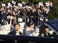 Warga Jepang Mulai Berkumpul Jelang Parade Kaisar Naruhito