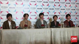 Arashi Tak Ingin Bandingkan K-pop dengan J-pop