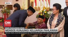 VIDEO: Mensos Juliari Batubara Kunjungi Keluarga Pahlawan