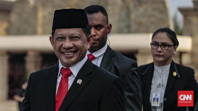 Tito Kumpulkan Pimpinan Daerah Dengarkan Visi Jokowi
