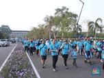 Puluhan Ribu Pegawai PLN Rayakan Hari Listrik Nasional ke-74
