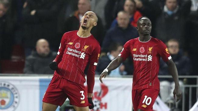 Babak I Liga Inggris: Liverpool Unggul 2-0 atas Man City