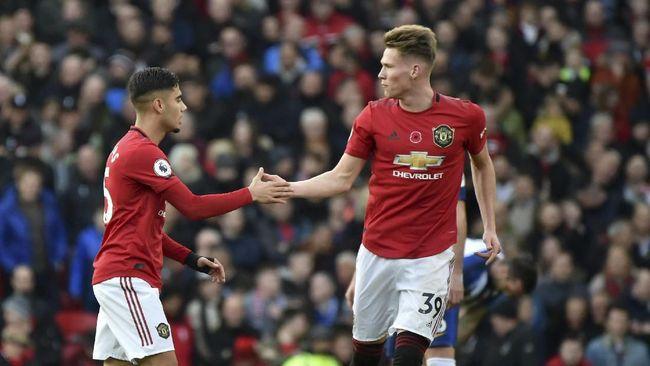 Babak I Liga Inggris: MU Unggul 2-0 atas Brighton & Hove