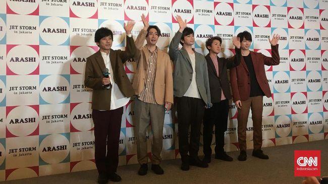 Ingin Lebih Dekat dengan Fan, Arashi Buat Akun Medsos