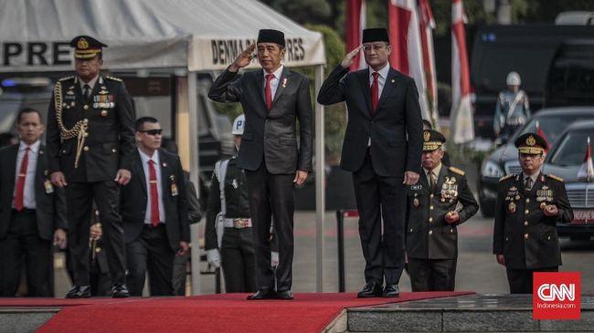 Jokowi Pimpin Peringatan Hari Pahlawan di TMP Kalibata