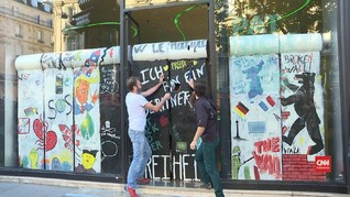 VIDEO: Mencecap Kenikmatan dari Runtuhnya 'Tembok Berlin'